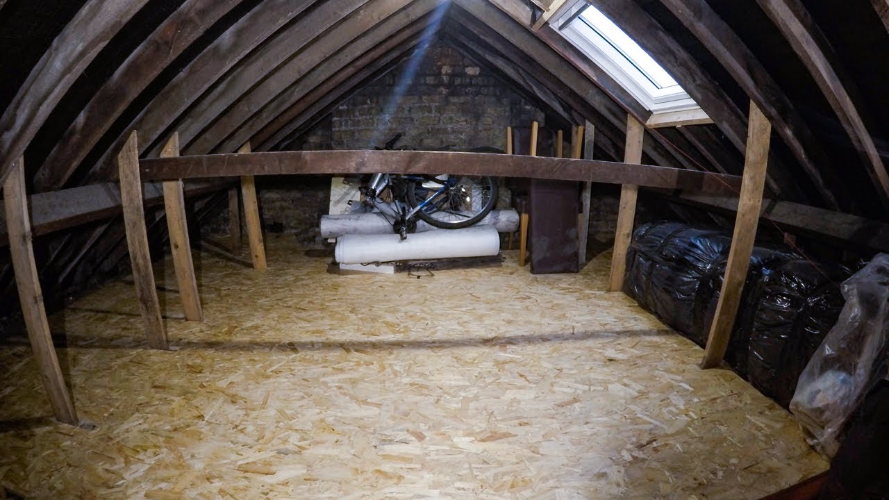 How to insulate and create storage space in your attic