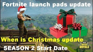 Fortnite Battle Royale Patch Notes / Holiday Event / Season 2 Soon !?!