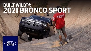 homepage tile video photo for The 2021 Ford Bronco Sport is Built Wild™ | Bronco | Ford
