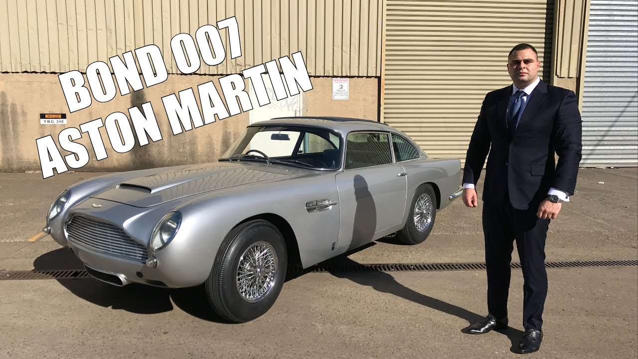 aston martin db5 review - james bond 007 - youtube