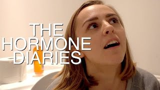 Trying a Menstrual Cup for the First Time! | The Hormone Diaries Ep. 9 | Hannah Witton