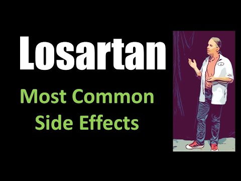 Losartan Most Common Side Effects