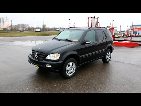 2002 Mercedes-Benz ML 320 (W163). Start Up, Engine, and In Depth Tour.