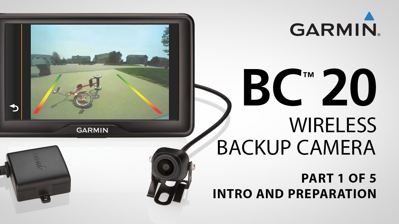 garmin bc 20 part 1 installing your wireless backup camera youtube. Black Bedroom Furniture Sets. Home Design Ideas