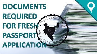 Documents Required For Fresh Passport Application