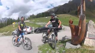 Tour du Mont Blanc MTB Day 2
