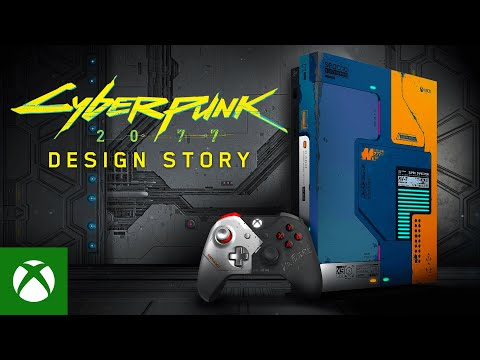 Designing The Cyberpunk 2077 Limited Edition Xbox