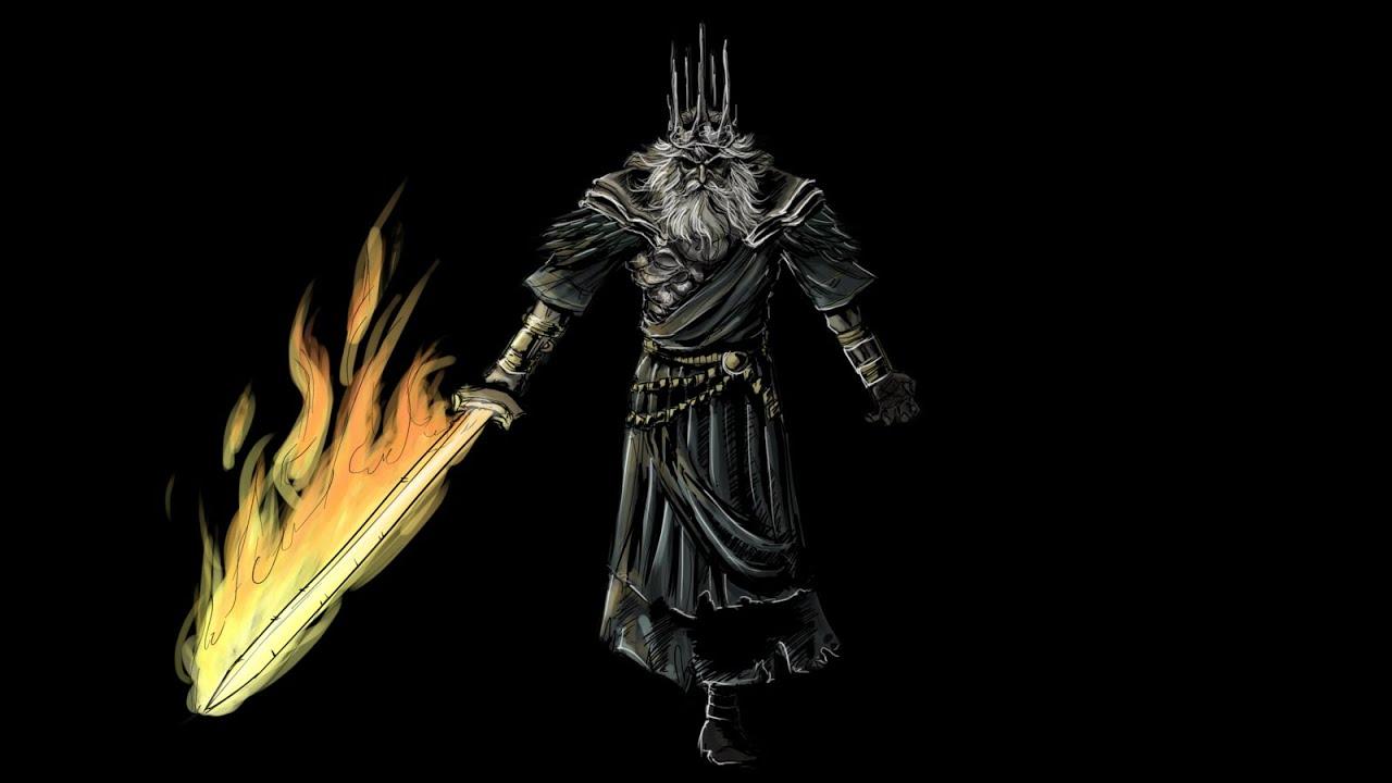Dark souls 3 gwyn cosplay