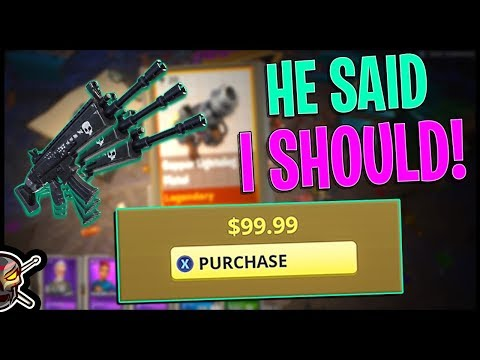 Nephew Suggests Buying Ultimate Upgrade Pack | Legendary Troll Stash/Birthday Llamas - Fortnite STW