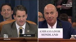 WATCH: Rep. Jim Himes' full questioning of Gordon Sondland | Trump impeachment hearings