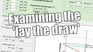 'Lay the draw' - Betfair trading strategy - Bet Angel