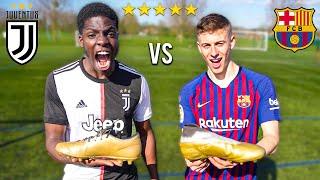 MESSI vs RONALDO FOOTBALL CHALLENGE