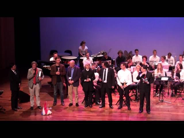 【香港青年愛樂樂團】赴荷蘭參賽【2012年荷蘭國際音樂節】頒獎典禮