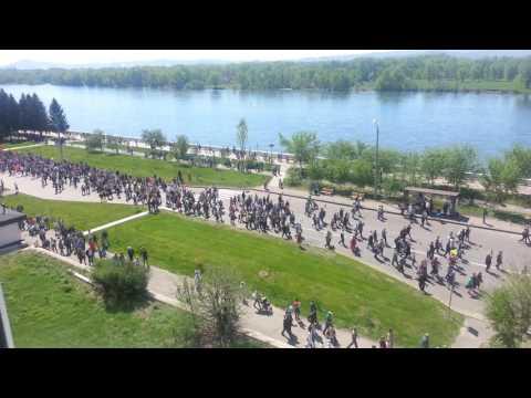 Бессмертный Полк Усть-Каменогорск 2017 год