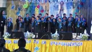 """Festival Mariano N° XIV - Inicial de 4 años """"A"""" 2014"""