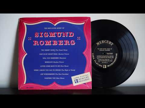 The Best Loved Music Of Sigmund Romberg (195?) Musical  Operetta