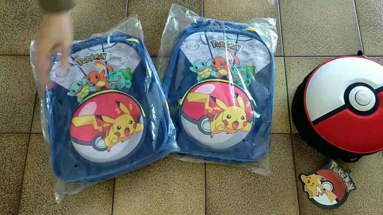 thumbnail video Детские рюкзаки, пеналы, дорожные сумки оптом сток 13,9 €/кг лот #18