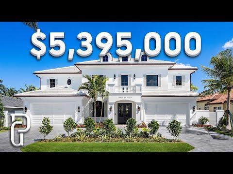 Inside A $5,395,000 Modern Coastal Inspired Home In South Florida! | Propertygrams House Tour