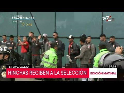 Selección peruana llega a Lima tras disputar la final de la Copa América 2019