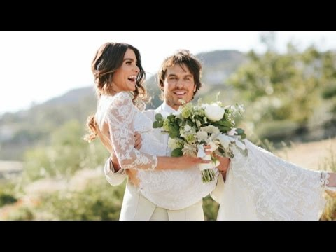 Nikki Reed and Ian Somerhalder Share Romantic Photos From Inside Their Wedding!