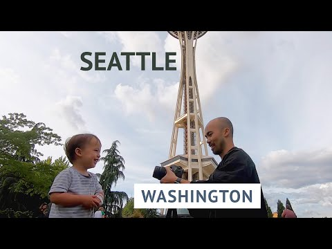 Seattle in a Day | Space Needle, Pike Place Market, Starbucks Reserve, Amazon Spheres | Washington