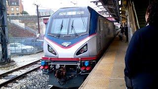 Onboard Amtrak Northeast Regional- Baltimore to Washington D.C.