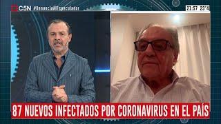 26-03-2020 - Carlos Heller en C5N - Minuto Uno, con Gustavo Sylvestre -#Coronavirus #Economía