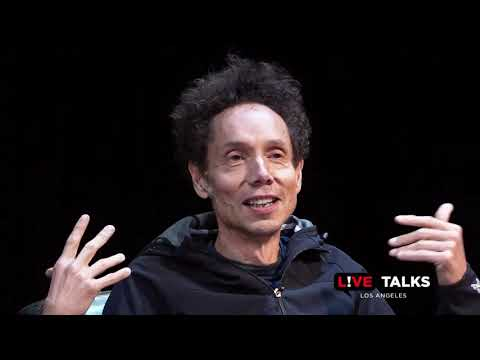Malcolm Gladwell and Larry Wilmore talk running at Live Talk Los Angeles