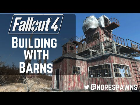 Fallout 4 Far Harbor - Building with Barns
