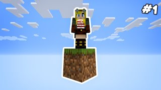 Minecraft Skyblock - but it's just ONE BLOCK! #1