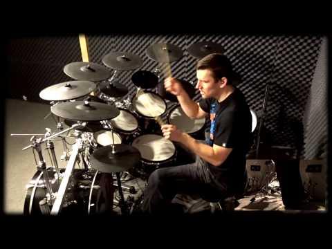 Recording 6 min. One-Take on Drums | Metal