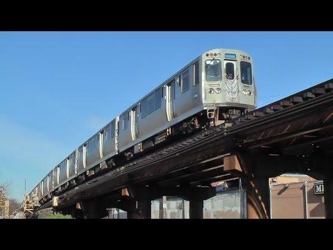 Chicago CTA Blue Line / Brown Line 2014.11