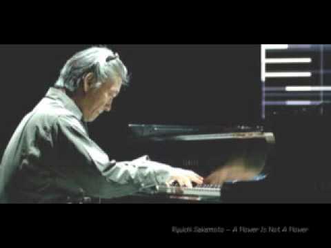 Ryuichi Sakamoto - A Flower Is Not A Flower