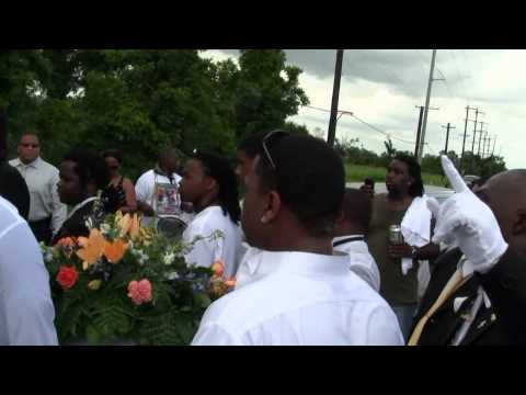 Brandon Franklin Funeral Second line (Part 2)