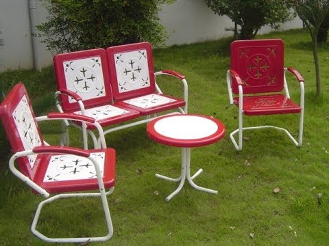 Retro Patio Furniture You