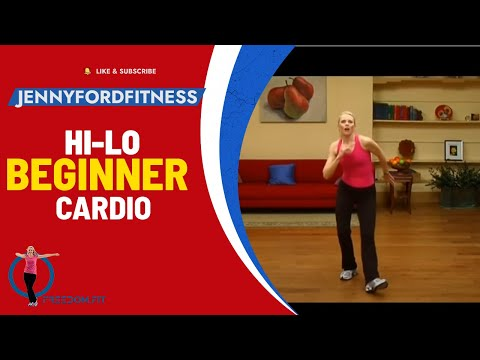 Hi-Lo Cardio WORKOUT FITNESS - JENNY FORD