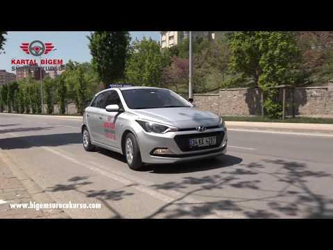 Direksiyon Sınav Parkuru - Kartal Bigem Sürücü Kursu