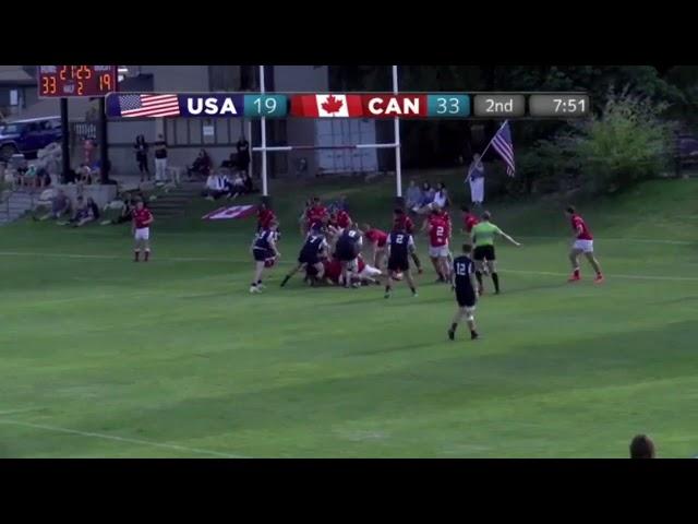 Highlights | U18 Boys High School All-Americans vs Canada U18s