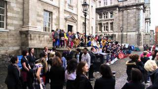 Bollywood comes to Trinity College Dublin -- Filming of Ek Tha Tiger at TCD