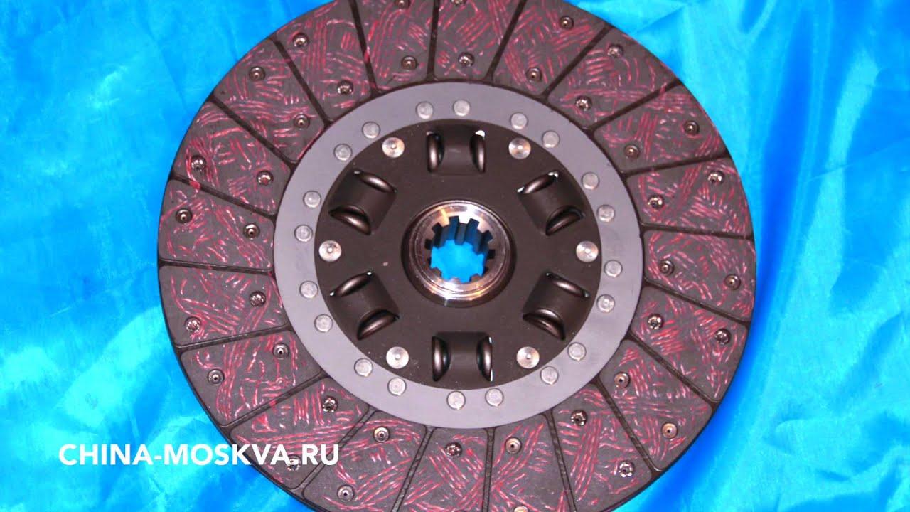 Диск сцепления Юджин 1080 YUEJIN 1080 диаметр 325 мм -  330 мм
