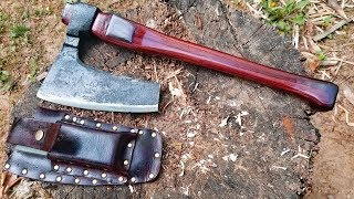 Bulgarian Bearded Axe Restoration - Giving away this axe.