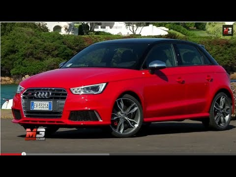 audi s1 sportback 231 cv 2014 test drive costa smeralda youtube. Black Bedroom Furniture Sets. Home Design Ideas