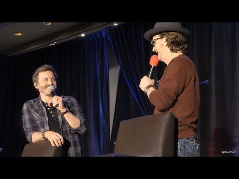 Montreal Con Kings of Con  Rob Benedict and Richard Speight Jr.  FULL Panel 2018 Supernatural