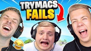 NICHT Lachen : TRYMACS Minecraft Fails! Mit Rewinside