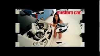 カスタムCAR 2014年 2月号のカバーカーは、軽カーではありえないシャコ...