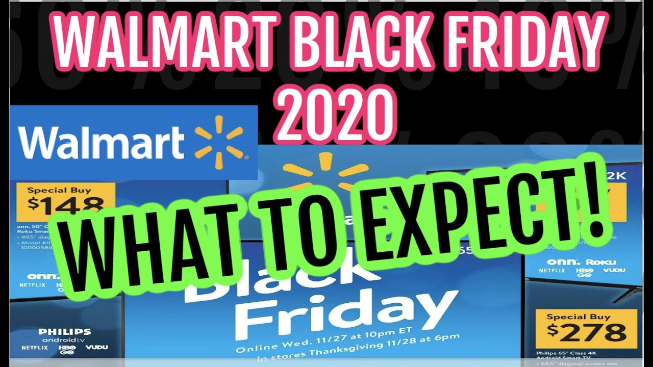 Black Friday 2020: Walmart announces plans for three events; in ...