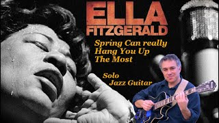 Spring Can Really Hang You Up the Most - fingerstyle acoustic jazz guitar, Jake Reichbart