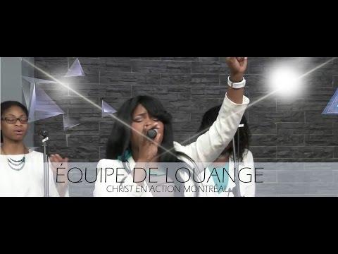 Medley: Je t'adore, avec l'Équipe de Louange CAE Montréal