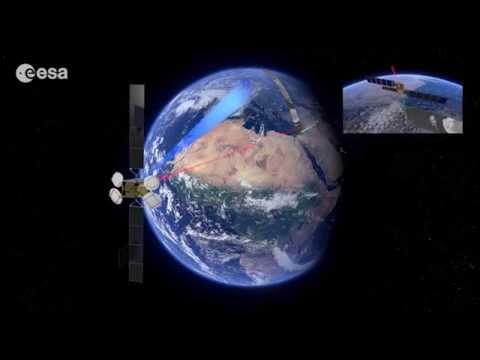 ESA transmits satellite images in near real-time via Space Data Highway