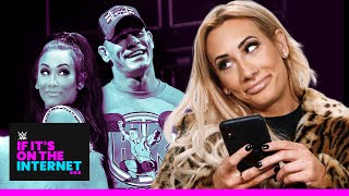 Did Carmella date John Cena?: If It's on the Internet